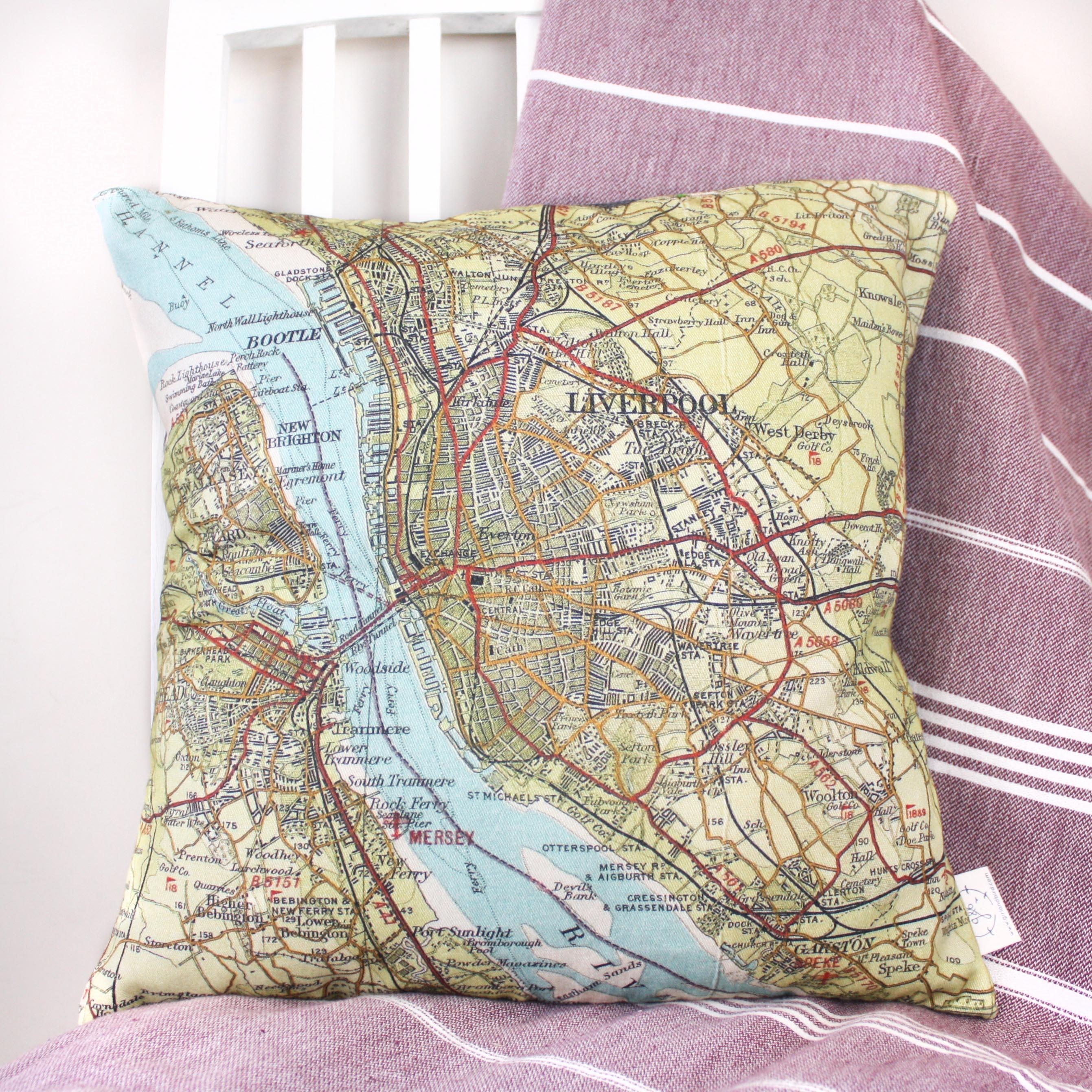 Personalised favourite place in the uk map cushion personalised uk destination map cushion gumiabroncs Images