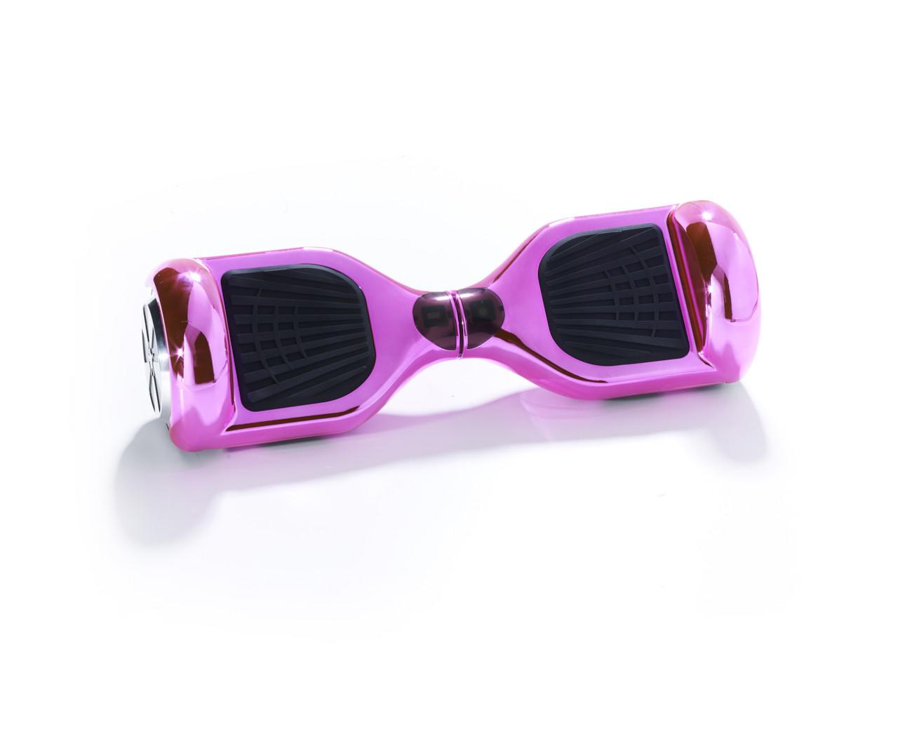 6 5 Pink Chrome Bluetooth Segway Hoverboard