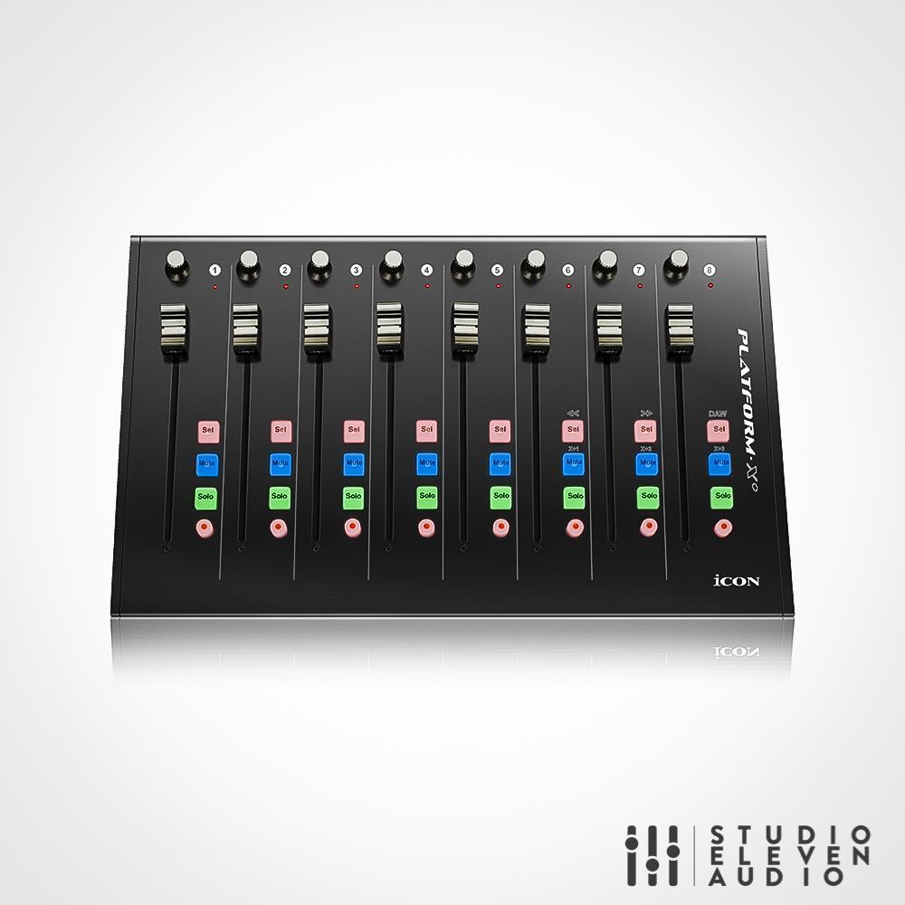 Icon Platform X MIDI Audio Controller Erweiterung zu M Motorfader Extender USB