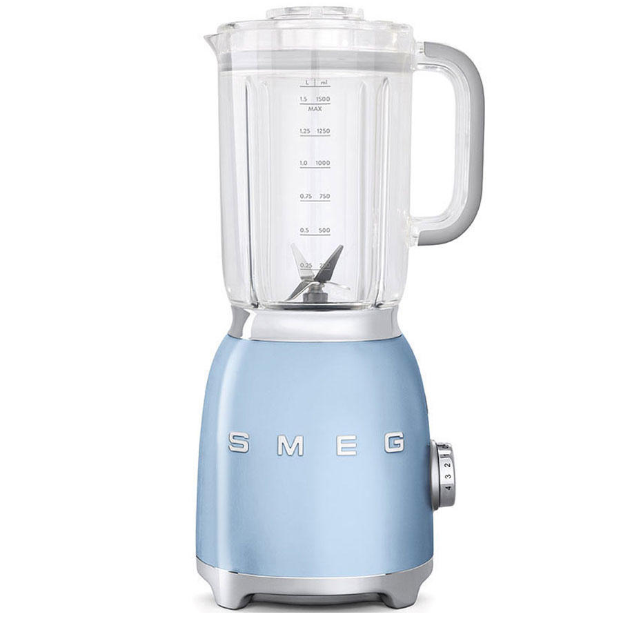 Image of BLF01PBUK Pastel Blue Retro Blender