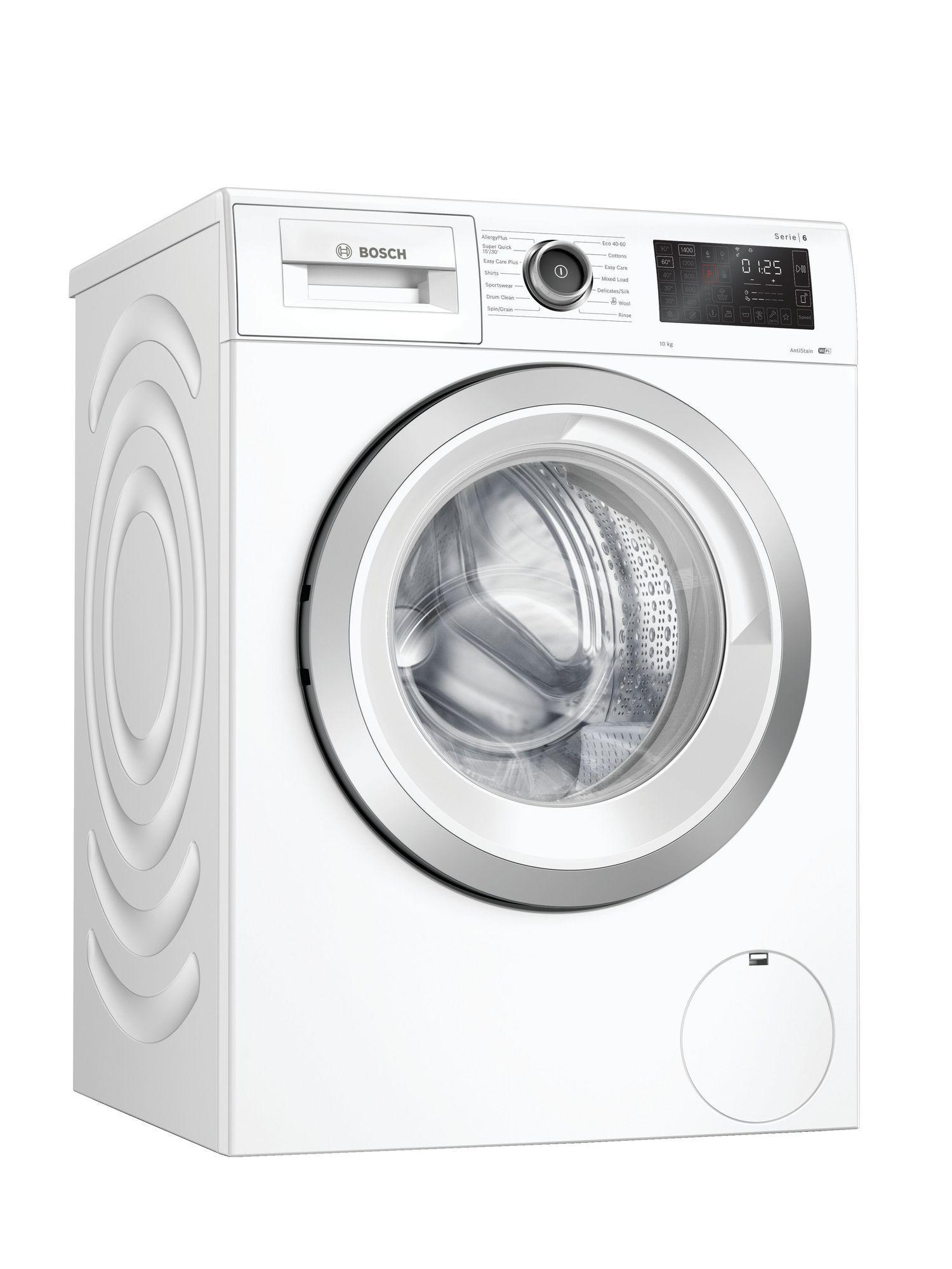 Image of Serie 6 WAL28RH1GB 10Kg 1400 Spin Washing Machine   White