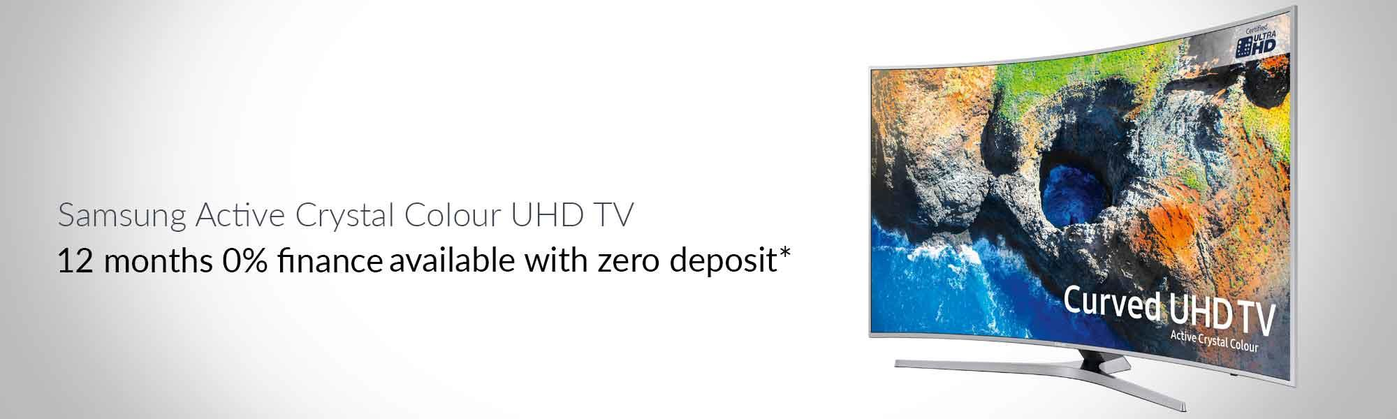 "Samsung UE65MU6500 65"" HDR Curved 4K TV"