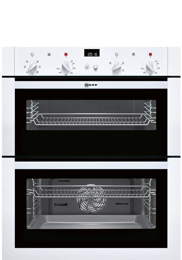 Neff U17M42W5GB Built Under Electric Double Oven