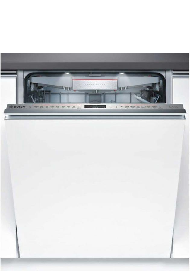 bosch smv68td06g smv68td06g integrated home connect dishwasher. Black Bedroom Furniture Sets. Home Design Ideas