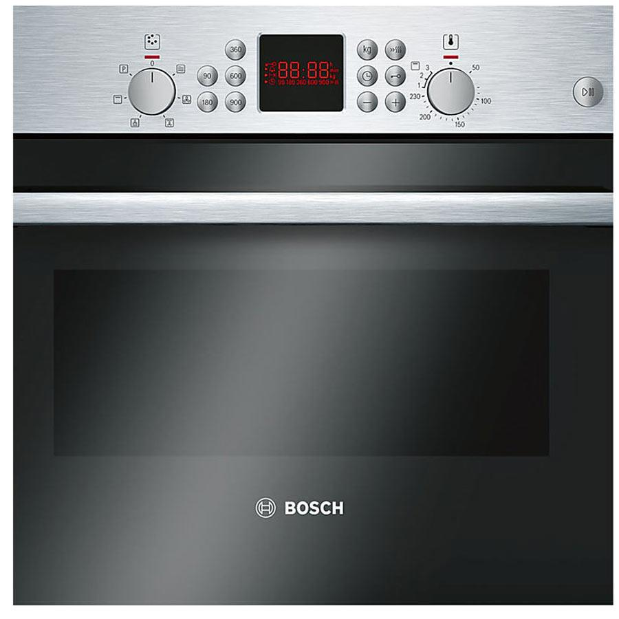 Bosch Serie 6 HBC84H501B Built-In Compact Electric Oven with Microwave