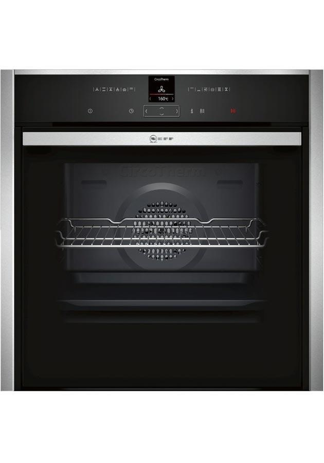 Neff B57CR23N0B Slide & Hide Built-In Pyrolytic Single Oven