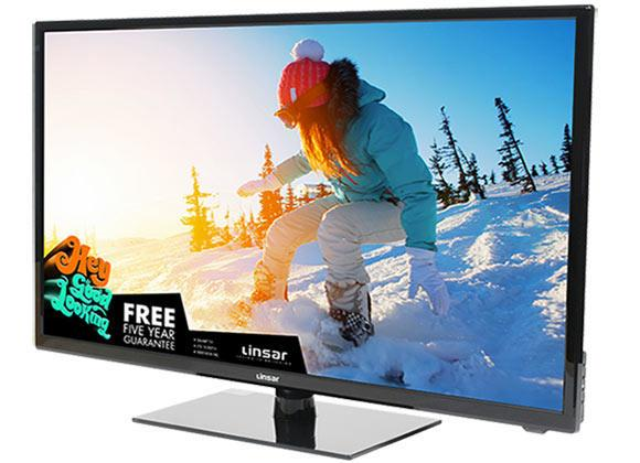 Linsar 32E10DVD 32 inch Full HD Freeview HD LED TV With DVD