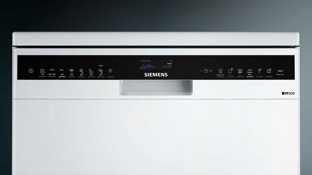 Siemens iQ500 SN258W06TG Home Connect A++ 60cm Dishwasher - White