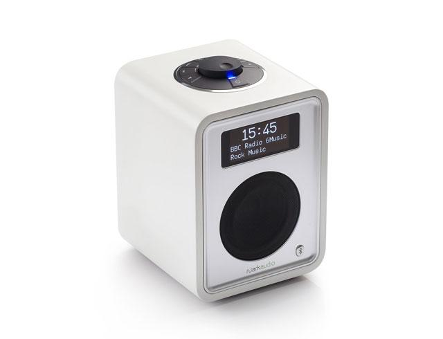 Ruark Audio R1 Mk3 DAB Bluetooth Digital Radio in Soft White Lacquer