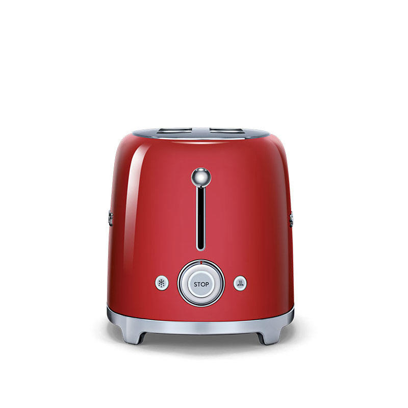 Smeg 50's Retro TSF02RDUK 4 Slice Toaster in Red
