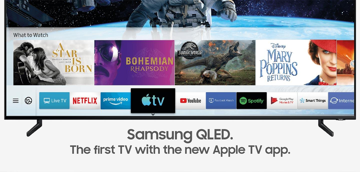 Samsung QLED - Smartest TVs in The World Apple TV & AirPlay 2