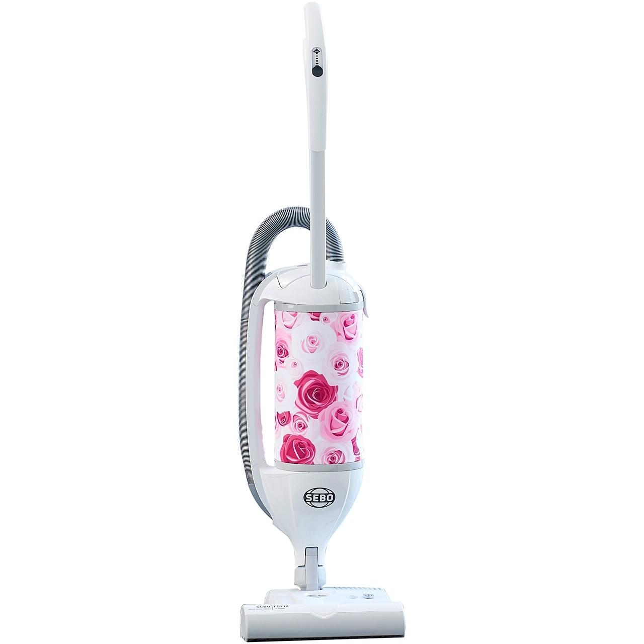 Sebo FELIX ePower Upright Vacuum Cleaner - Rose