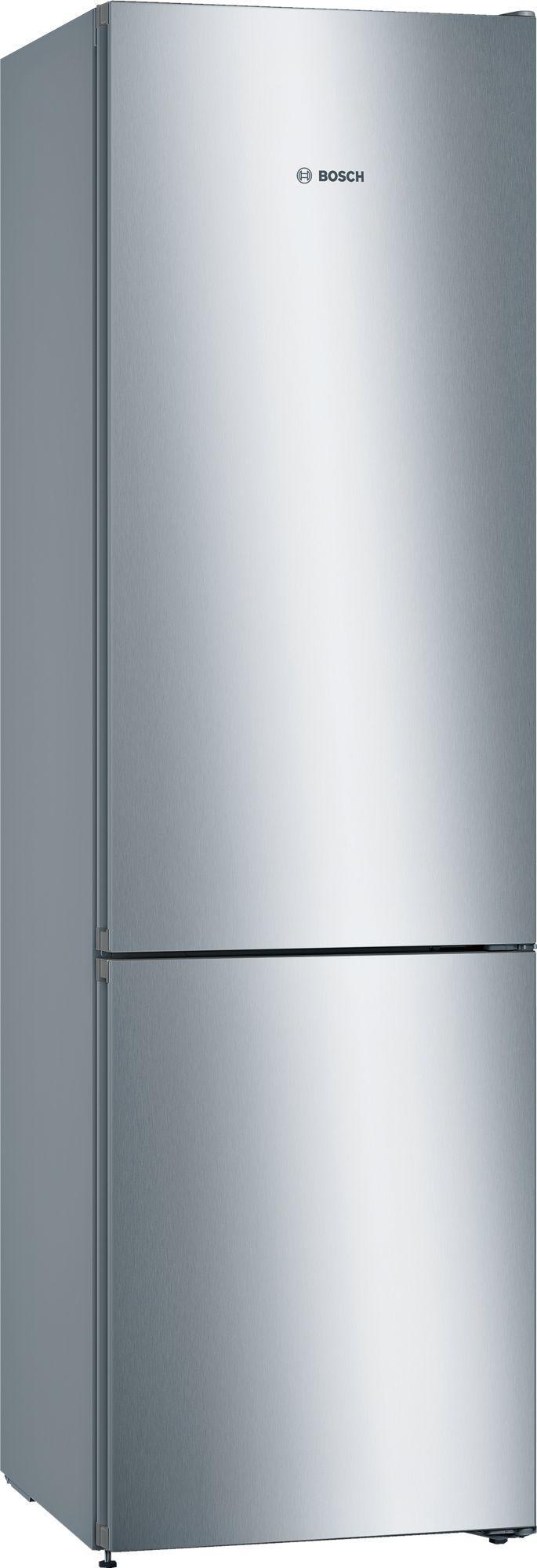 Image of Serie 4 KGN39VLEAG 60cm 366 Litre No Frost Fridge Freezer | Silver Innox