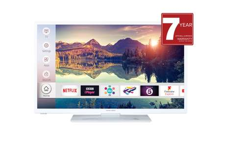 Mitchell & Brown JB-321811FSMWHT 32 inch HD Ready Smart TV - White