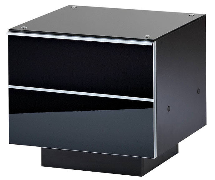UKCF GDRW47 ULTIMATE 470MM BLACK TV STAND
