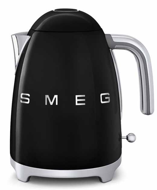 Smeg KLF01BLUK Retro Kettle Black