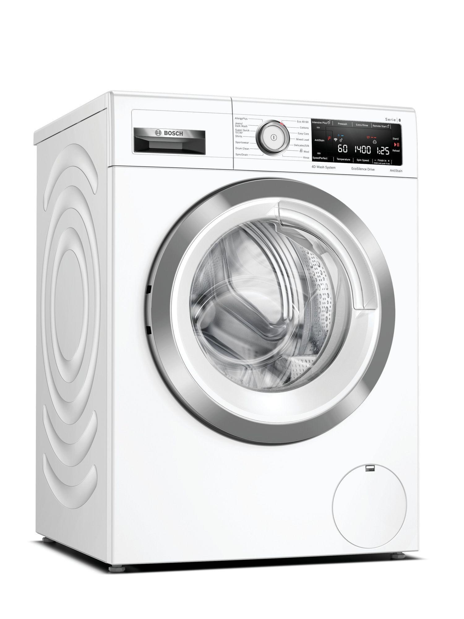 Image of Serie 8 WAV28MH4GB 9Kg 1400 Spin Washing Machine   White