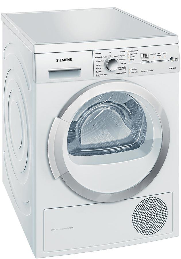 Siemens WT46W381GB 7Kg Heat Pump Condenser Tumble Dryer