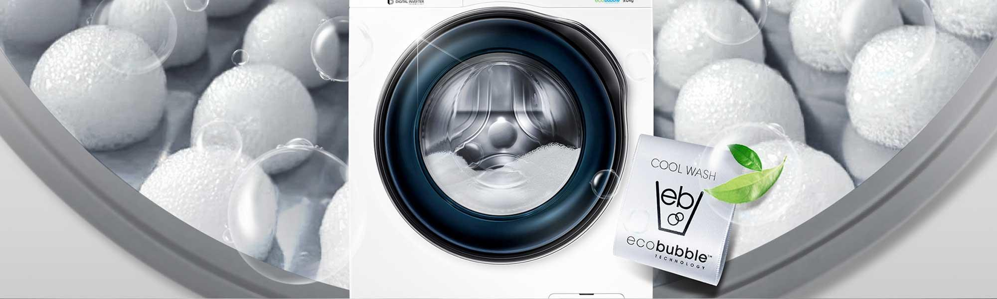 Samsung WD90J6410AW 9Kg 1400 Spin Washer Dryer