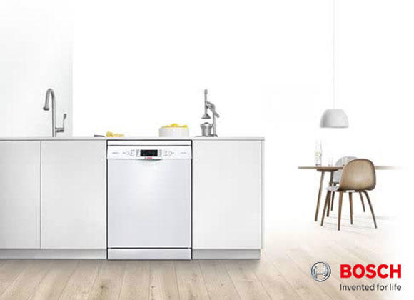 Bosch SMS69M12GB 60cm Freestanding Dishwasher