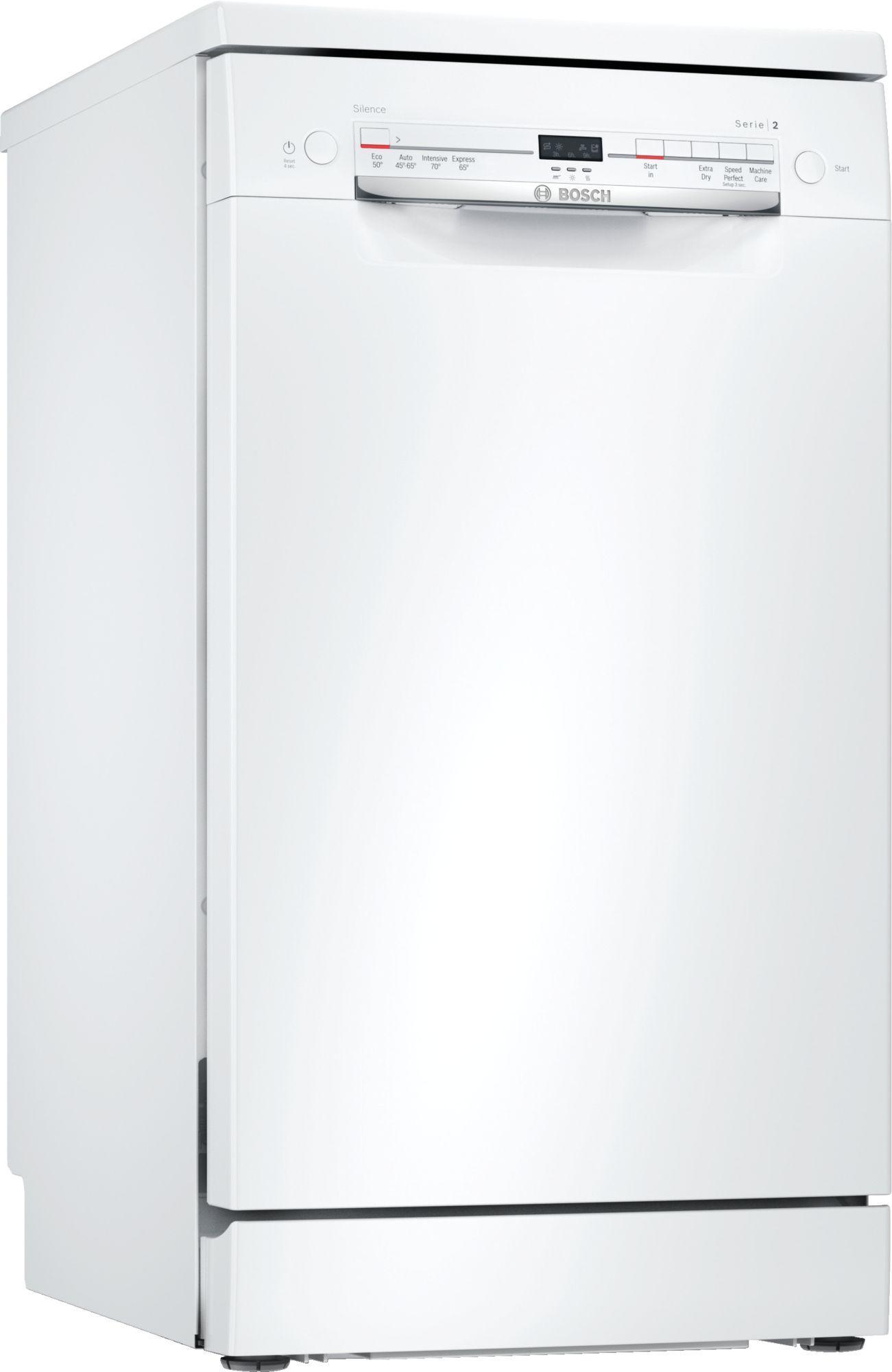 Image of Serie 2 SRS2IKW04G 45cm Slimline Dishwasher   White