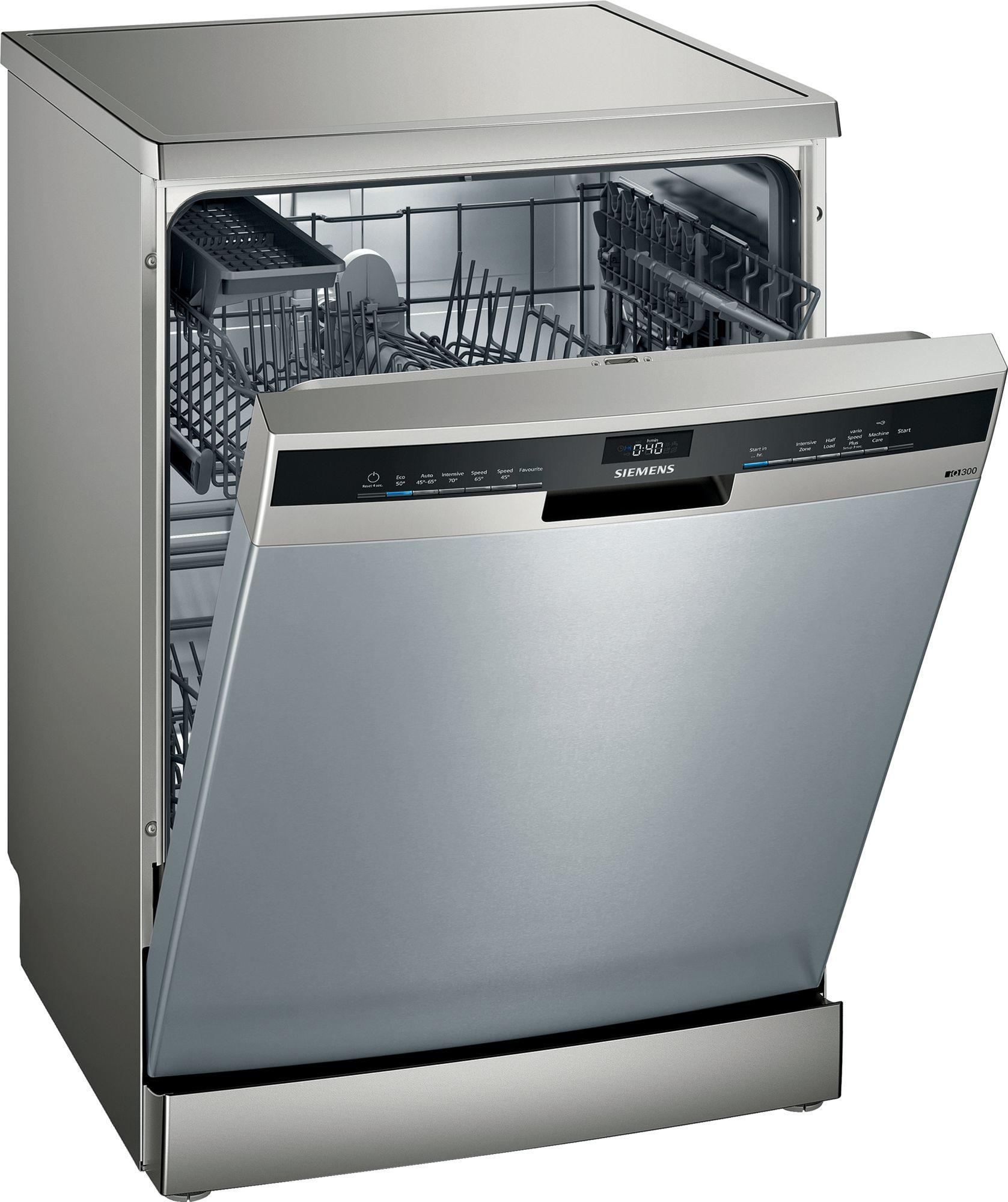 Image of iQ300 SE23HI60AG 60cm Standard Dishwasher | Fingerprint Free Steel