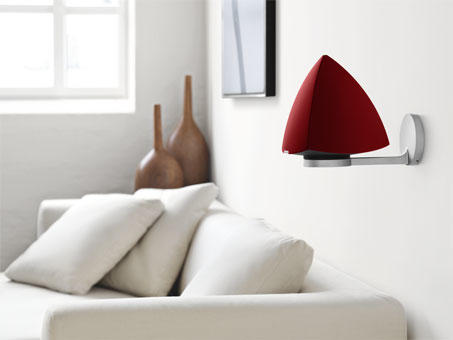 Bang & Olufsen BeoLab 4 Active Loudspeakers Pair - Red
