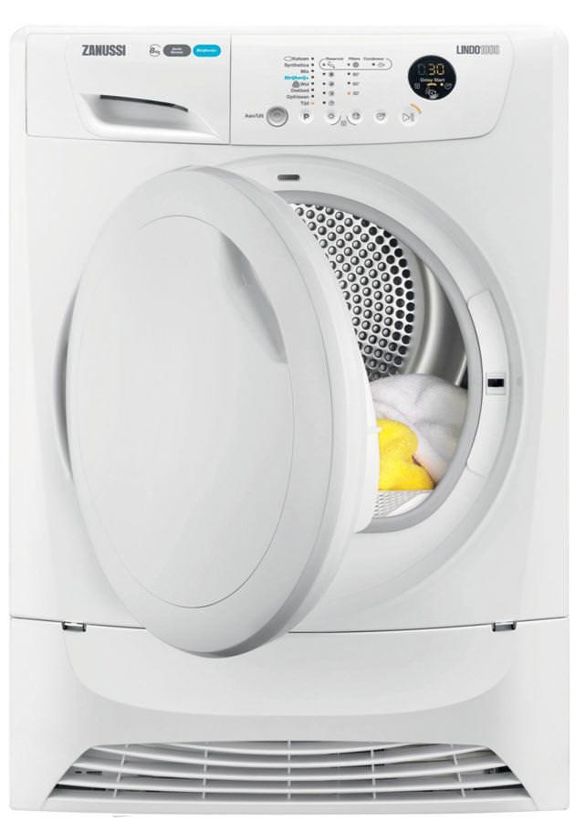 Zanussi ZDH8333P 8Kg Heat Pump Condenser Dryer