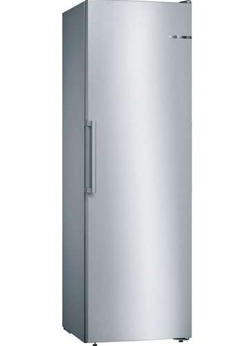 Bosch Serie 4 GSN36VL3PG 60cm 242 Litre A++ Frost Free Tall Single Door Freezer | Silver