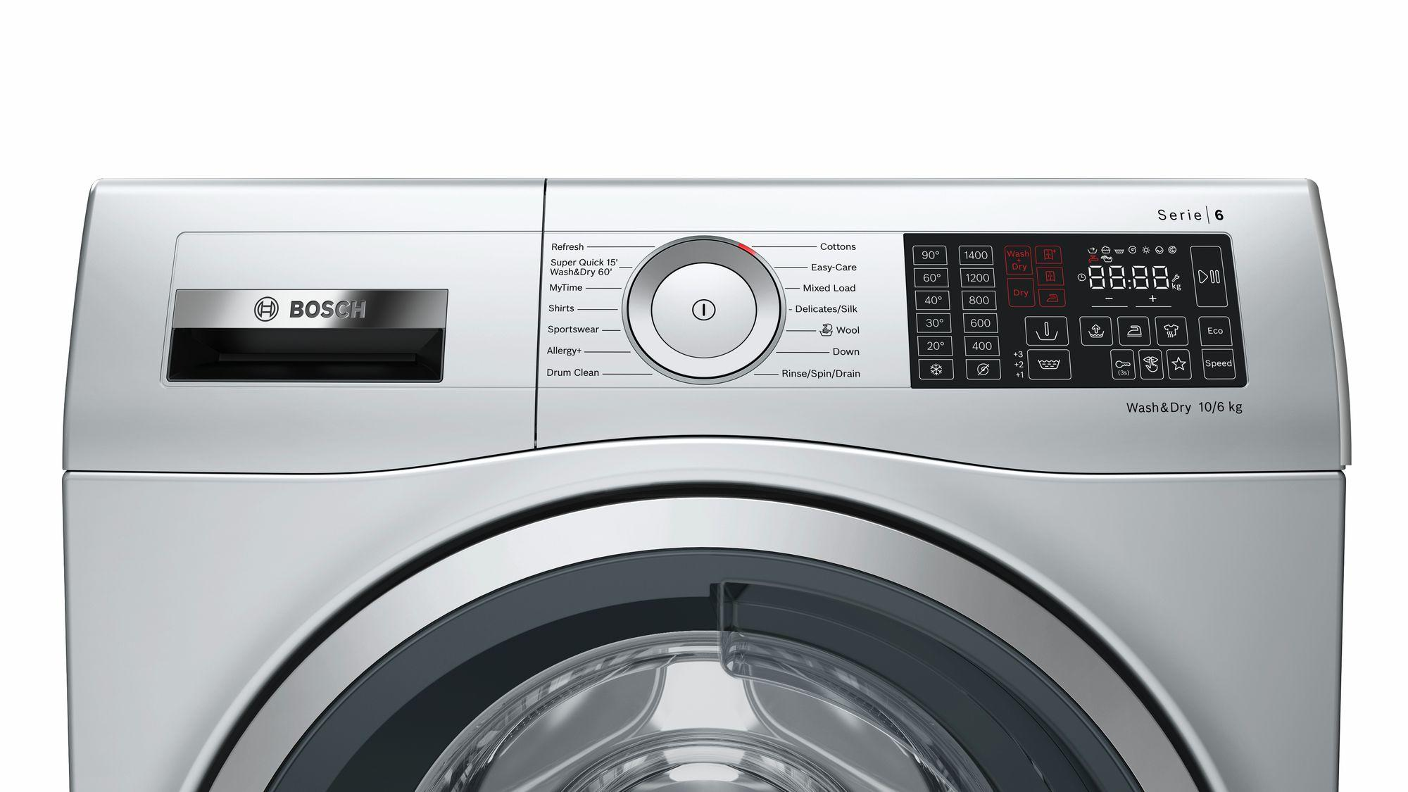 Bosch Serie 6 WDU28568GB 10Kg 1400 Spin Washer Dryer