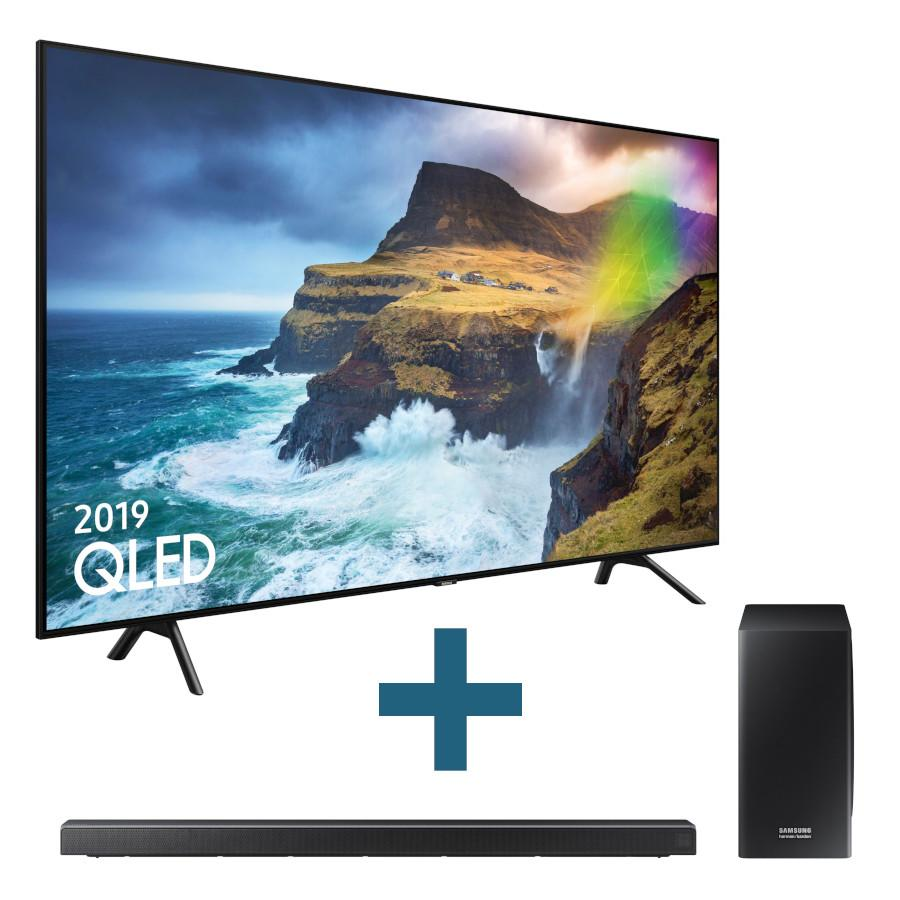 Bundle: QE82Q70R TV + HW-Q70R Soundbar