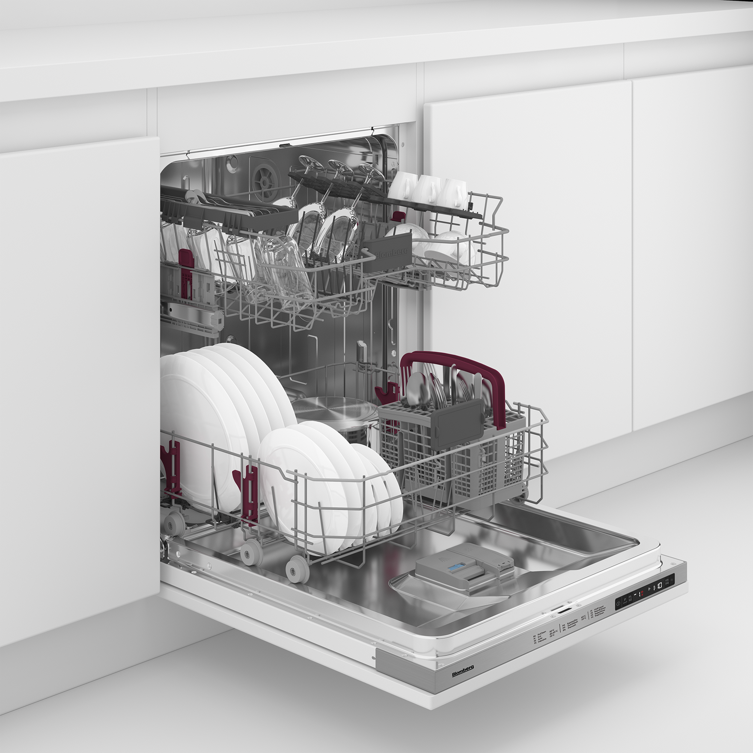 Blomberg LDV42124 60cm A+ Integrated Built-In Dishwasher