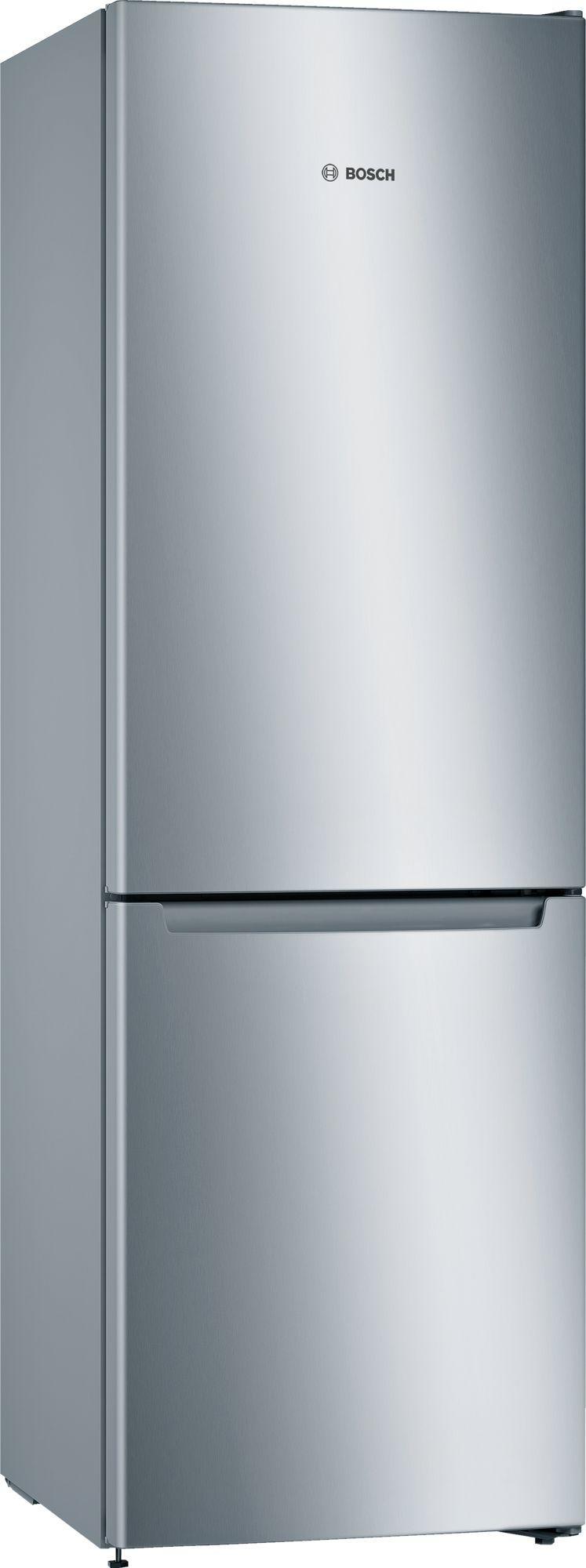 Image of Serie 2 KGN33NLEAG 60cm 279 Litre Frost Free Fridge Freezer | Silver Innox