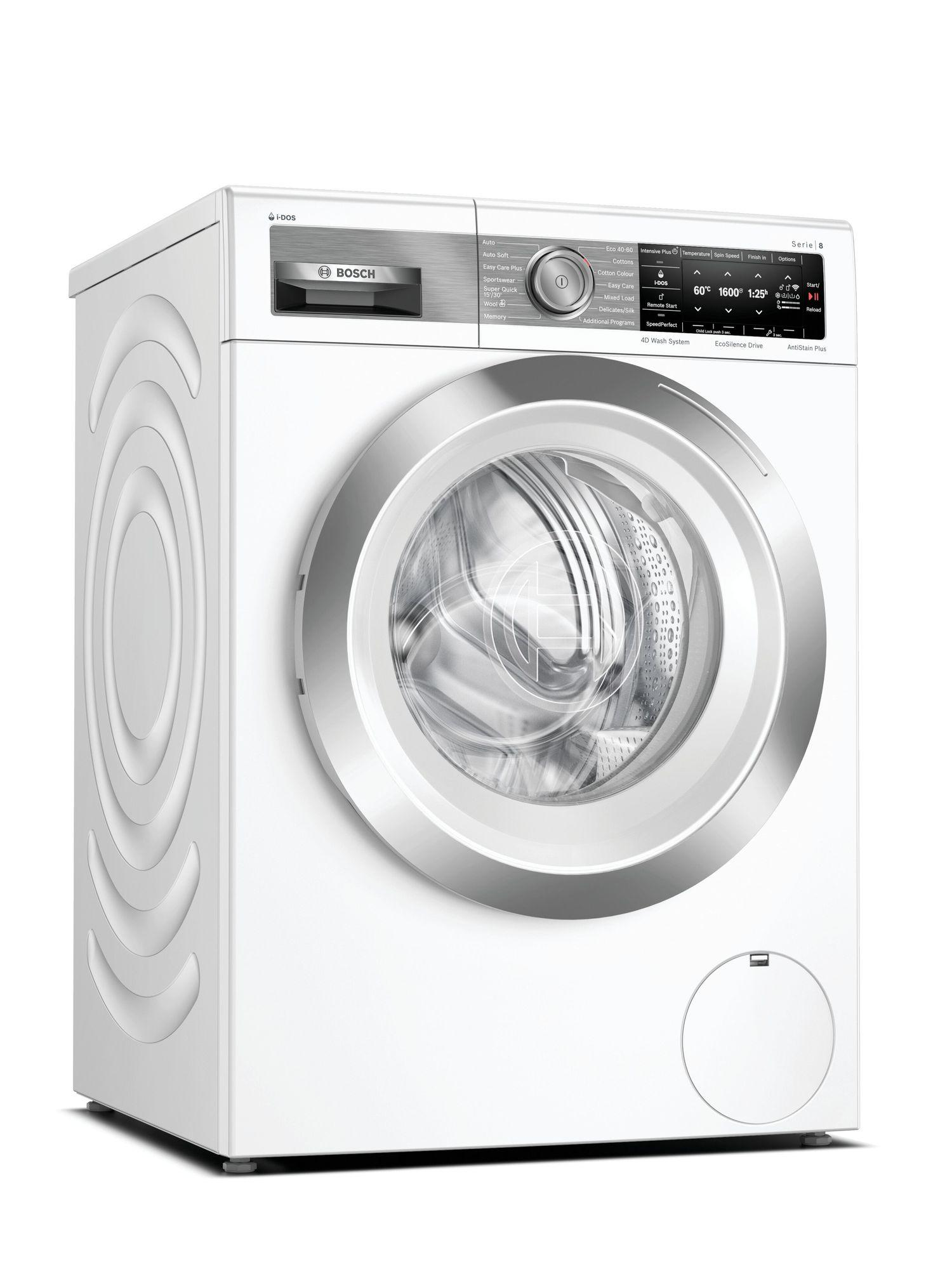 Image of Serie 8 WAX32EH1GB 10Kg 1600 Spin i-DOS Washing Machine   White