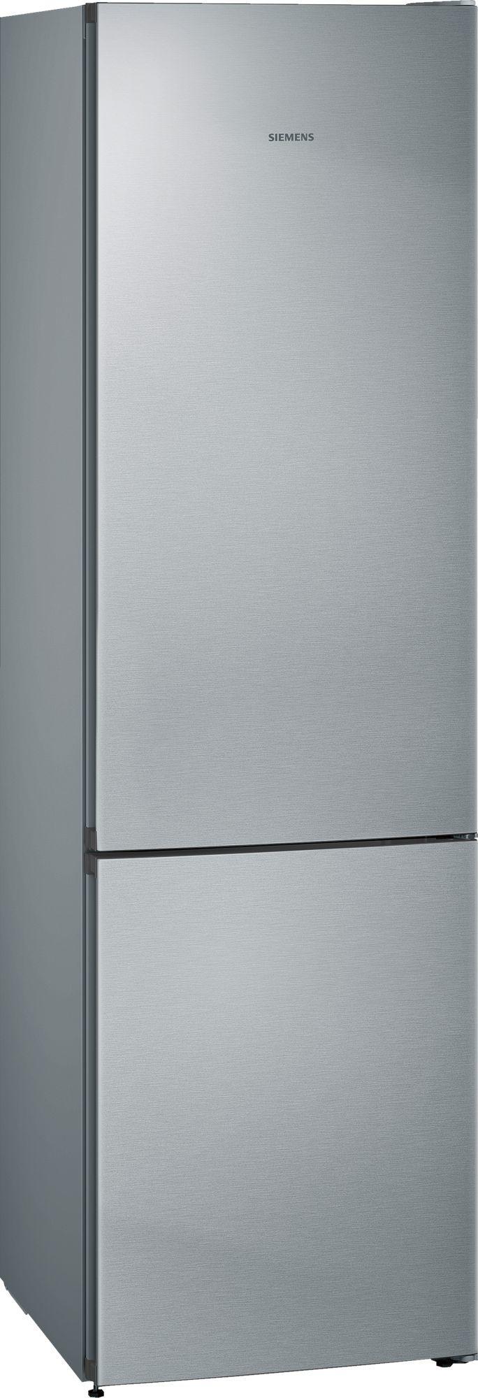 Image of iQ300 KG39NVIEC 60cm 366 Litre Frost Free Fridge Freezer | Silver Innox