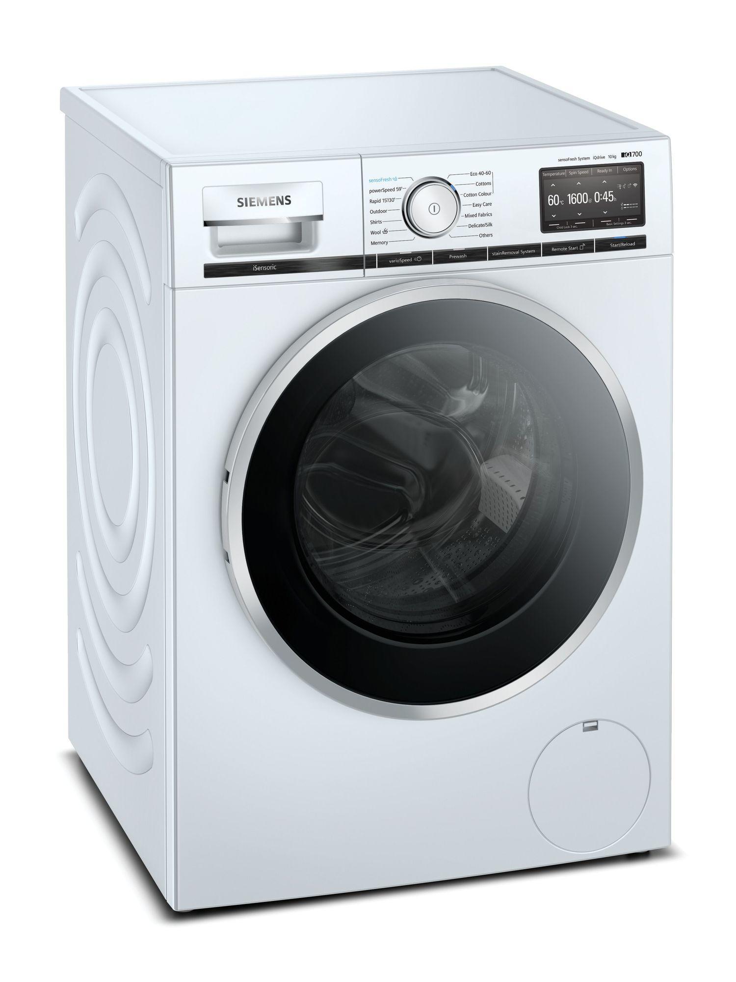 Image of iQ700 WM16XFH4GB 10Kg 1600 Spin Washing Machine | White