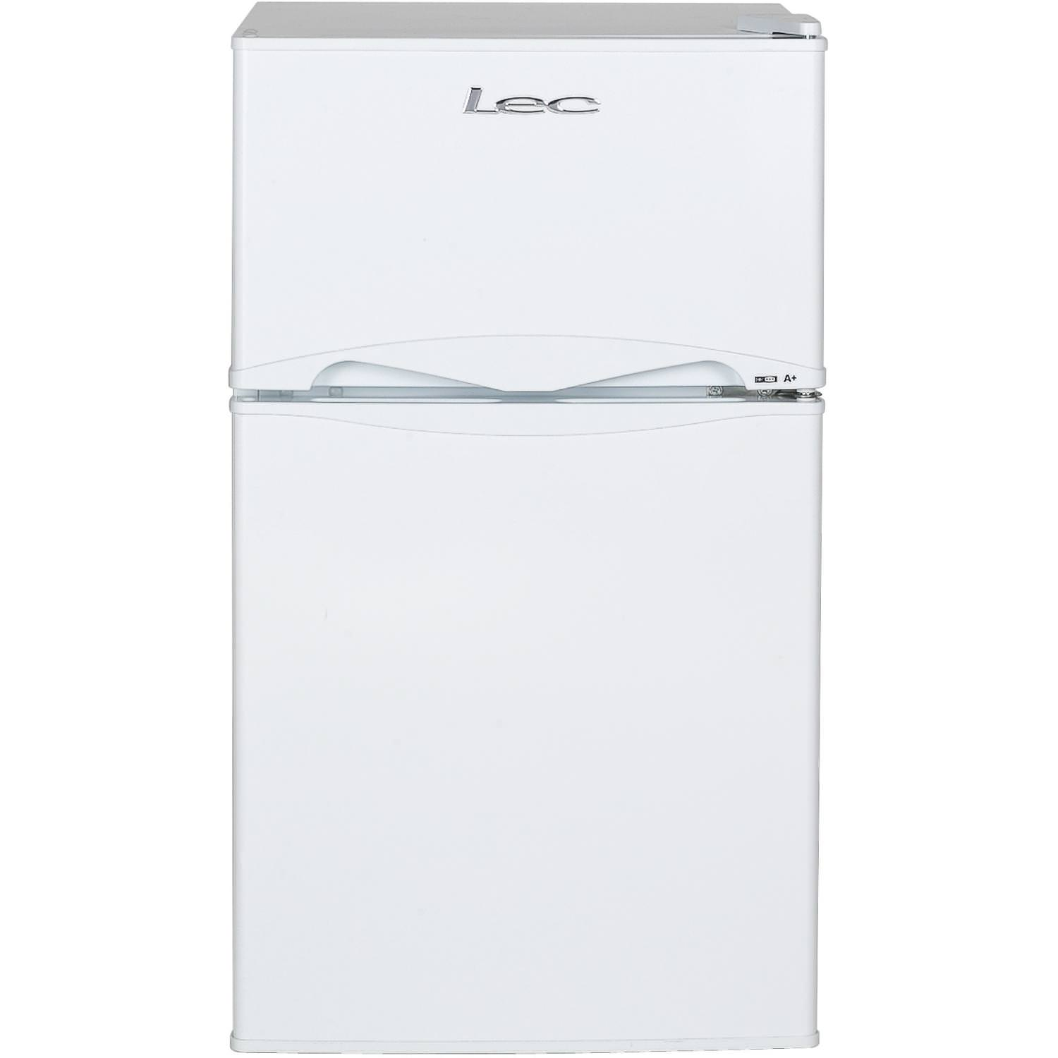 T50084W 87 Litre Auto Defrost Freestanding Under Counter Fridge Freezer