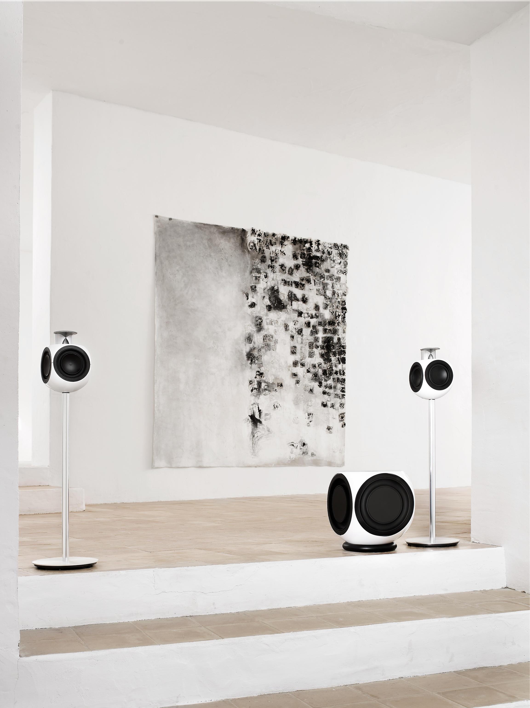 bang olufsen beolab 3 active loudspeakers white. Black Bedroom Furniture Sets. Home Design Ideas