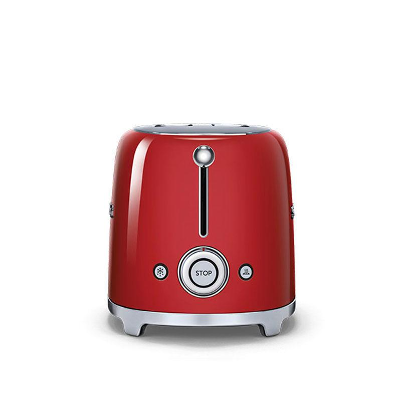 Smeg 50's Retro TSF01RDUK 2 Slice Toaster in Red