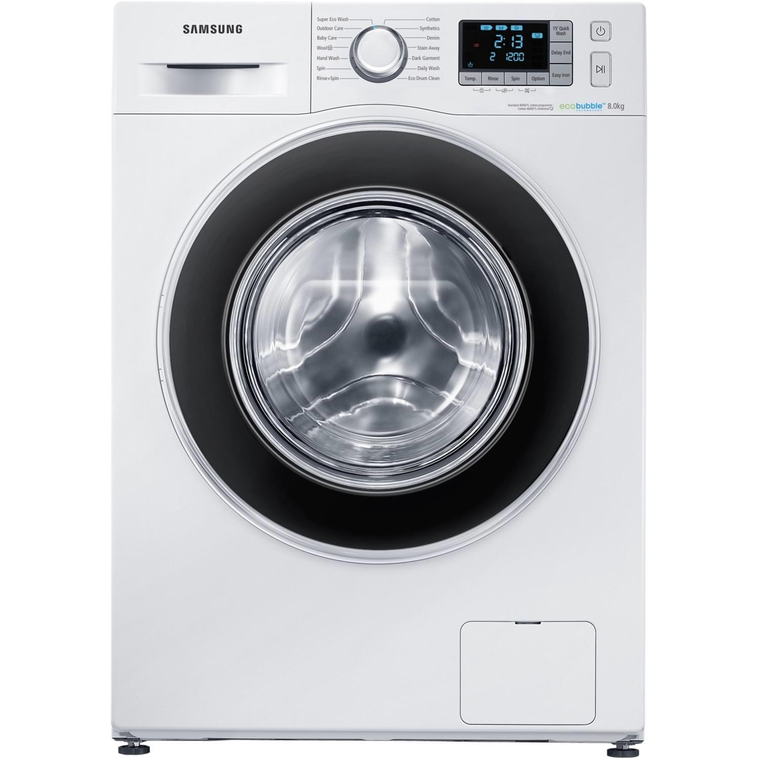 Samsung WF80F5EBW4W 8Kg 1400 Spin Washing Machine
