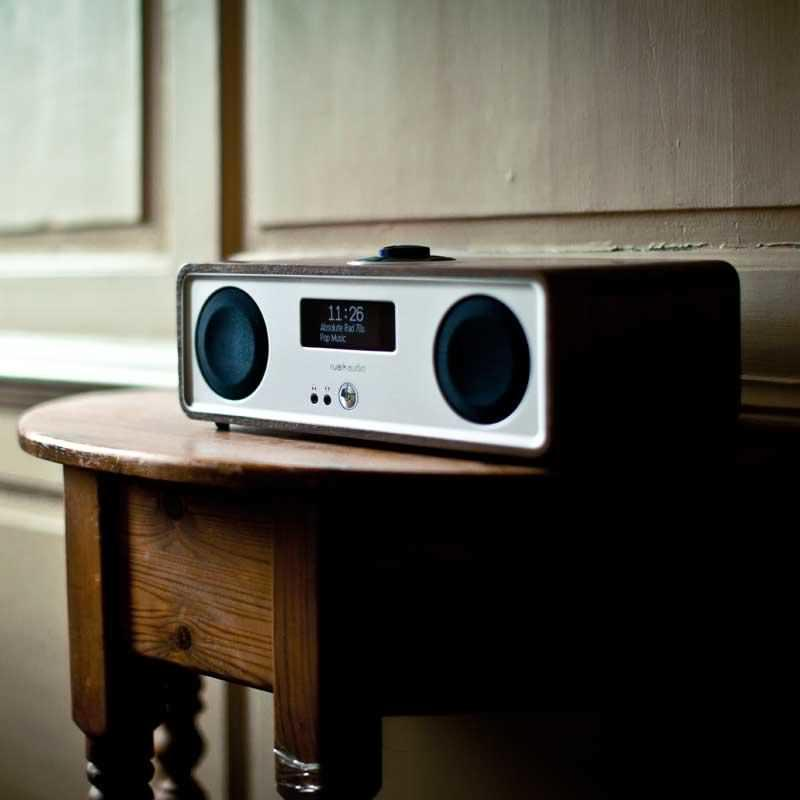 Ruark Audio R2 Mk3 DAB, WiFi, Bluetooth Music System - Soft White