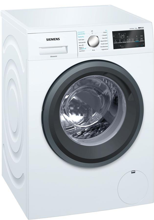 Siemens iQ500 WD15G422GB 7Kg / 4Kg 1500 Spin Washer Dryer - White