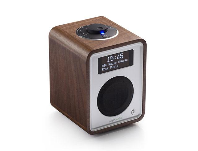 Ruark Audio R1 Mk3 DAB Bluetooth Digital Radio - Rich Walnut Veneer