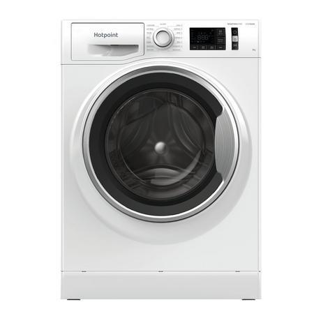 Image of NM11945WSAUKN 9kg 1400 Spin Washing Machine | White