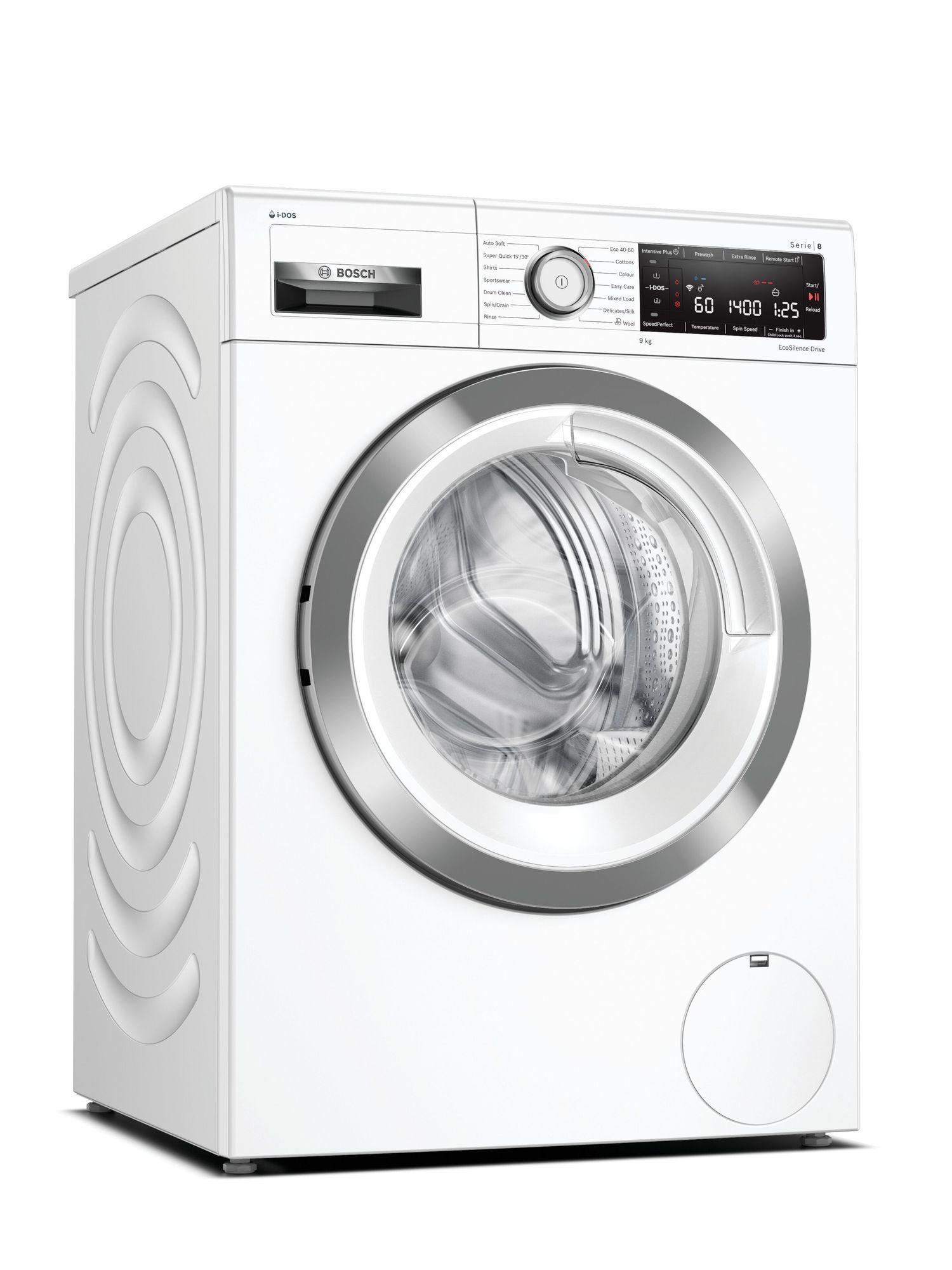 Image of Serie 8 WAV28KH3GB 9Kg 1400 Spin i-DOS Washing Machine   White