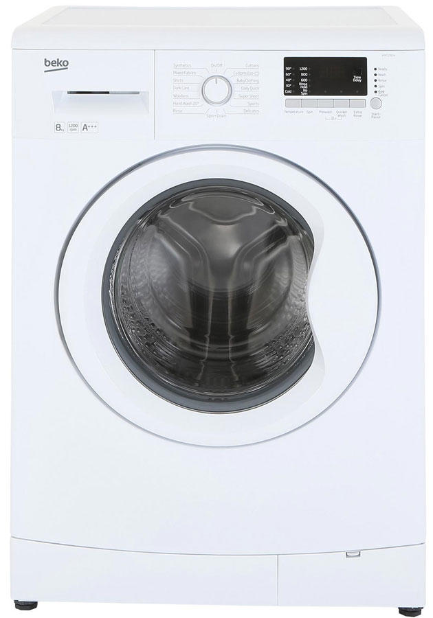 Beko WMC1282W 1200 spin 8kg Washing Machine