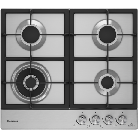 Image of GEN73415E 58cm Gas Hob | Stainless Steel