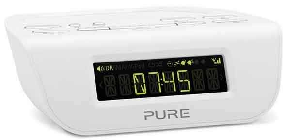 Pure SIESTA MI SERIES II WHITE DAB FM RDS DIGITAL RADIO
