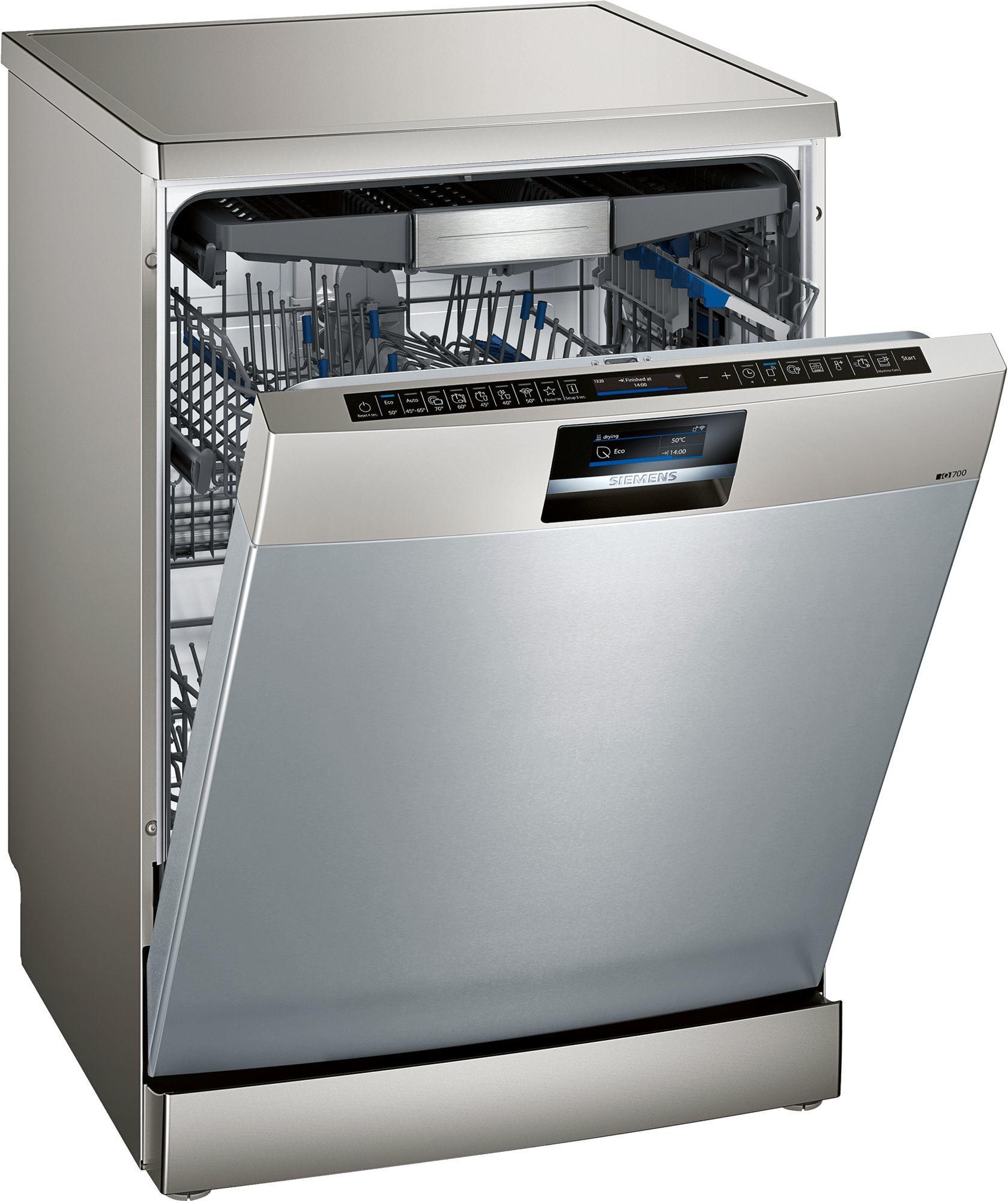 Image of iQ700 SN27YI01CE 60cm Standard Dishwasher | Fingerprint Free Steel