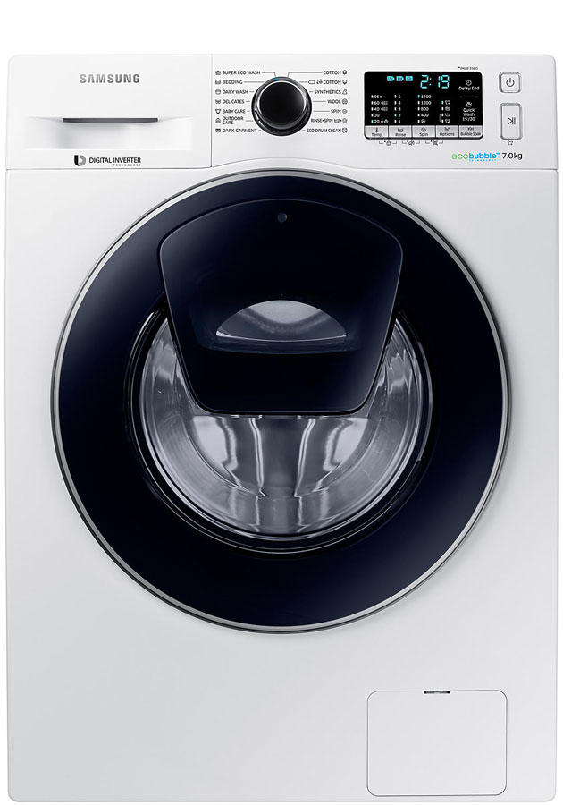 Samsung WW70K5410UW 7Kg 1400 Spin AddWash Washing Machine